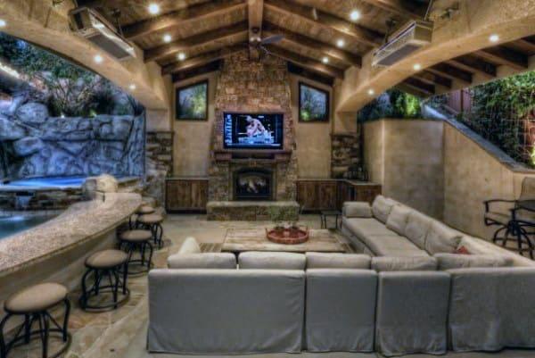 Top 50 Best Backyard Pavilion Ideas - Covered Outdoor ... on Backyard Lounge Area Ideas id=94379