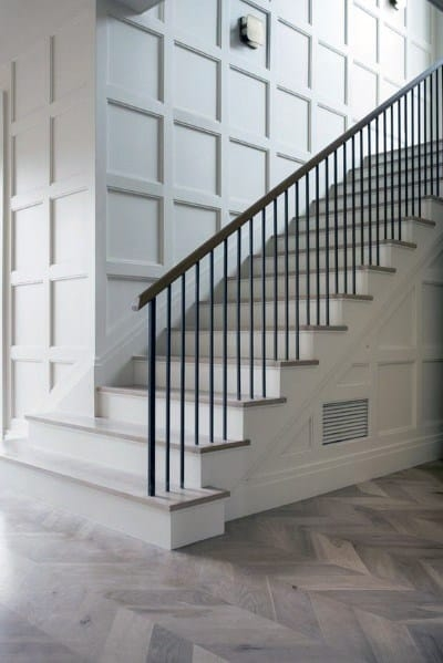 Top 60 Best Stair Trim Ideas Staircase Molding Designs | Staircase Design Near Me | Stair Treads | Spiral Staircase | Interior Design | Living Room | Stairbox