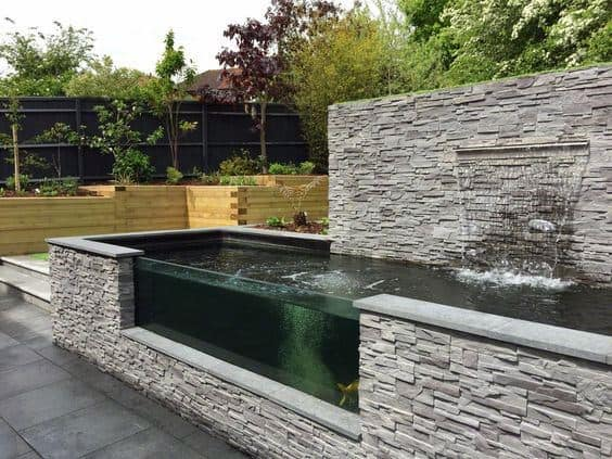 Top 50 Best Backyard Pond Ideas - Outdoor Water Feature ... on Koi Ponds Ideas  id=17154