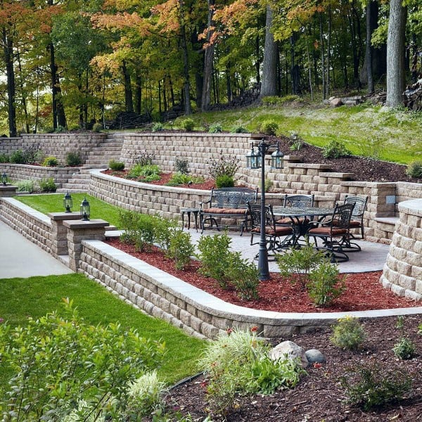 Top 60 Best Retaining Wall Ideas - Landscaping Designs on Wall Ideas For Yard id=33320