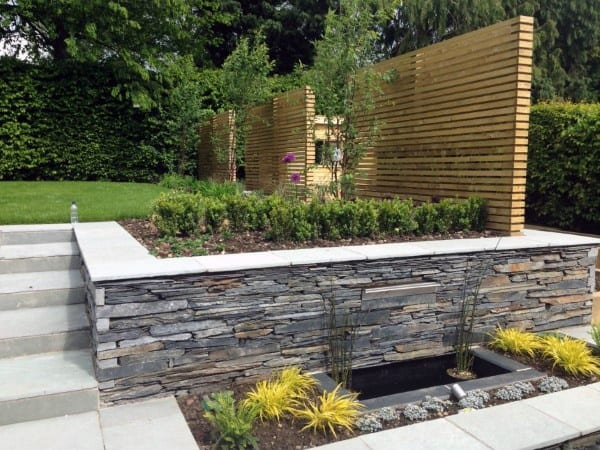 Top 60 Best Retaining Wall Ideas - Landscaping Designs on Garden Patio Wall Ideas id=84615