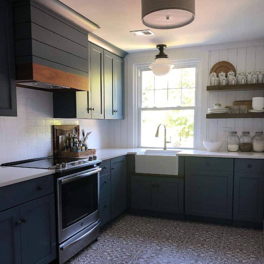 The Top 70+ Best Modern Farmhouse Kitchen - Interior Home ... on Luxury Farmhouse Kitchen  id=35890