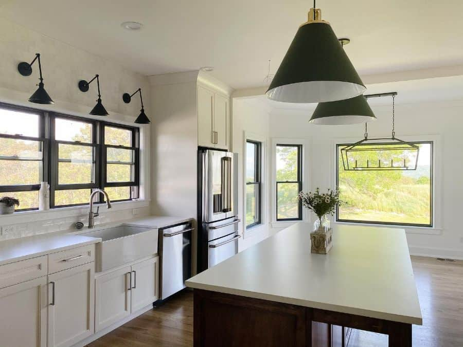 The Top 70+ Best Modern Farmhouse Kitchen - Interior Home ... on Luxury Farmhouse Kitchen  id=58722
