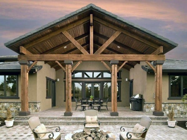 Top 60 Patio Roof Ideas - Covered Shelter Designs on Roof For Patio Ideas id=20805