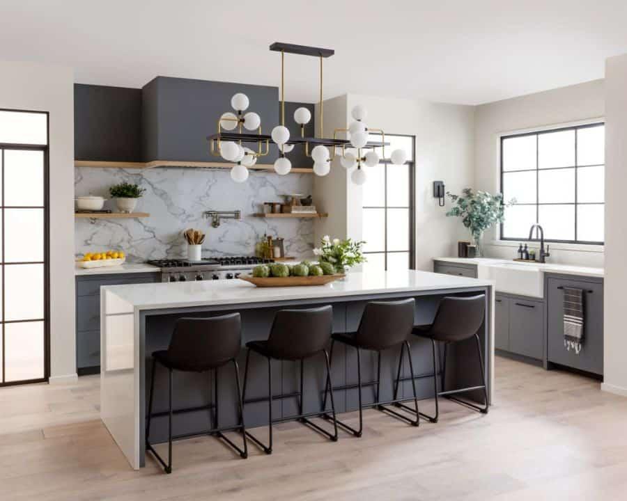 The Top 70+ Best Modern Farmhouse Kitchen - Interior Home ... on Luxury Farmhouse Kitchen  id=35141