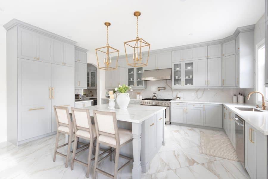 The Top 70 Best Modern Farmhouse Kitchen Interior Home And Design Next Luxury