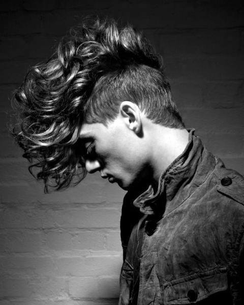 25 Curly Fade Haircuts For Men Manly Semi Fro Hairstyles