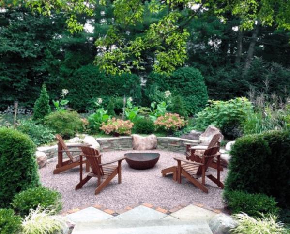 Top 40 Best Gravel Patio Ideas - Backyard Designs on Backyard With Gravel Ideas id=96119