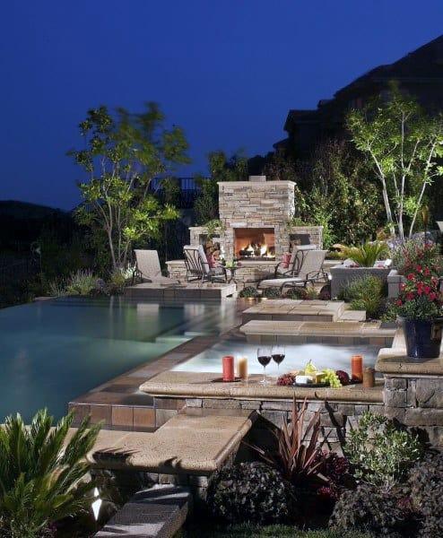 Top 60 Best Cool Backyard Ideas - Outdoor Retreat Designs on Luxury Backyard Design id=95452