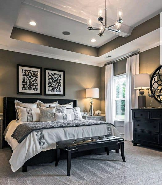 Top 60 Best Master Bedroom Ideas - Luxury Home Interior ... on Best Master Bedroom  id=98538