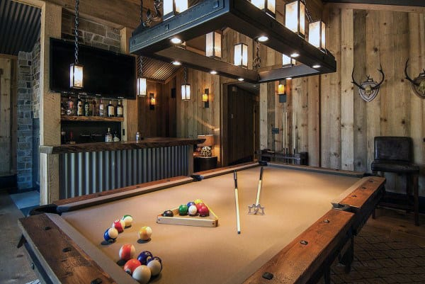 After all, the area will be used for playing games. 60 Game Room Ideas For Men - Cool Home Entertainment Designs