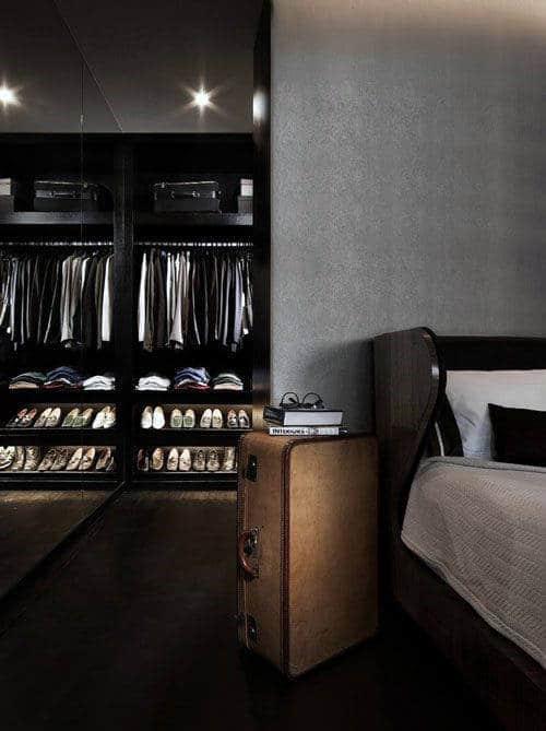 60 Men's Bedroom Ideas - Masculine Interior Design Inspiration on Bedroom Ideas For Men Small Room  id=21800