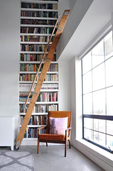 Top 70 Best Floor To Ceiling Bookshelves Ideas Wall