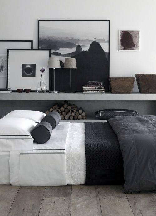 60 Men's Bedroom Ideas - Masculine Interior Design Inspiration on Bedroom Ideas For Guys  id=15313