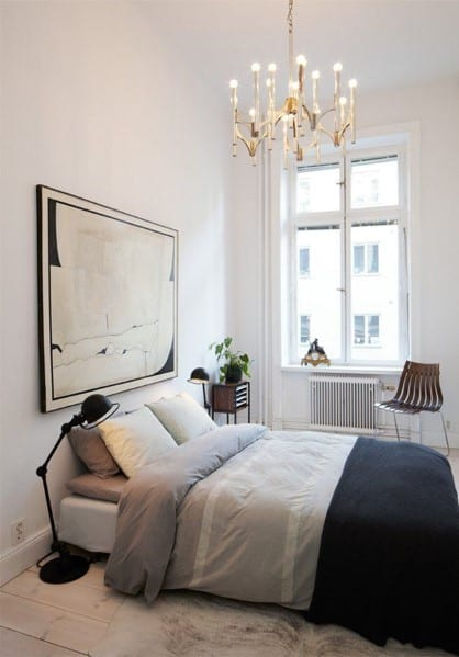 20 Masculine Men's Bedroom Designs - Next Luxury on Small Room Ideas For Guys  id=90282