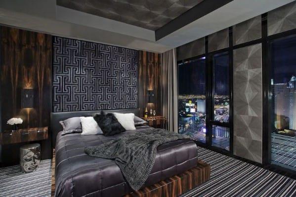20 Masculine Men's Bedroom Designs - Next Luxury on Bedroom Ideas For Men Small Room  id=90645