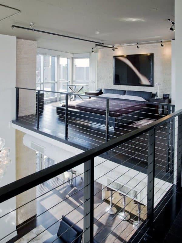 60 Men's Bedroom Ideas - Masculine Interior Design Inspiration on Bedroom Ideas For Men Small Room  id=25015