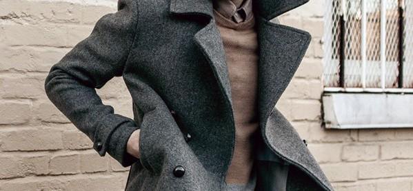 Men's Wool Peacoat