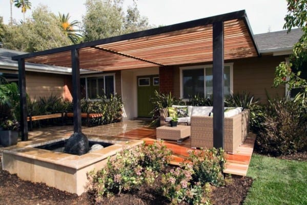 Top 40 Best Deck Roof Ideas - Covered Backyard Space Designs on Add On Patio Ideas  id=89514