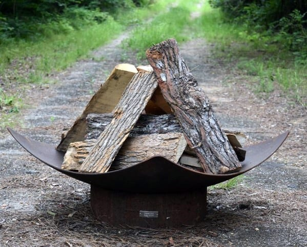 Top 60 Best Metal Fire Pit Ideas - Steel Backyard Designs on Fire Pit Inspiration  id=56068