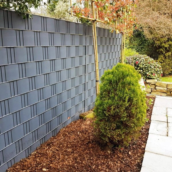 Top 50 Best Privacy Fence Ideas - Shielded Backyard Designs on Decorations For Privacy Fence id=32401