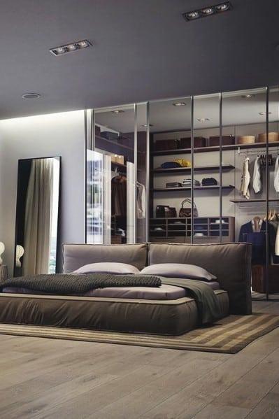 20 Masculine Men's Bedroom Designs - Next Luxury on Bedroom Ideas For Guys  id=40427