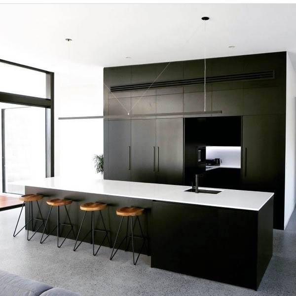 Top 70 Best Modern Kitchen Design Ideas - Chef Driven ... on Modern Kitchen Countertop Decor  id=53630