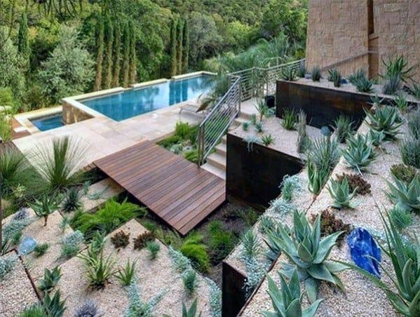 Top 70 Best Desert Landscaping Ideas - Drought Tolerant Plants on Desert Landscape Ideas For Backyards id=52887