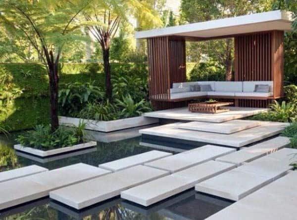 Top 70 Best Modern Landscape Design Ideas - Landscaping ... on Modern Backyard Landscape Ideas id=73156
