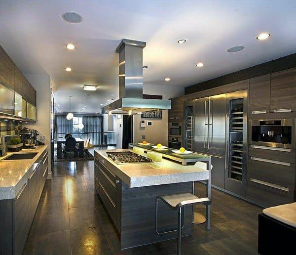 Top 70 Best Modern Kitchen Design Ideas - Chef Driven ... on Ultra Modern Luxury Modern Kitchen Designs  id=41003