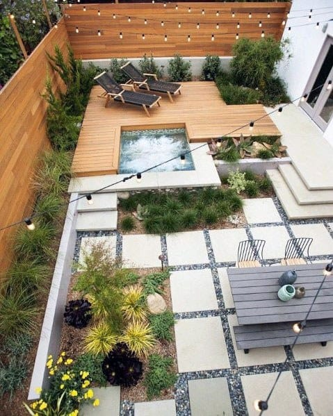 Top 70 Best Modern Patio Ideas - Contemporary Outdoor Designs on Modern Backyard Patio Ideas  id=90914