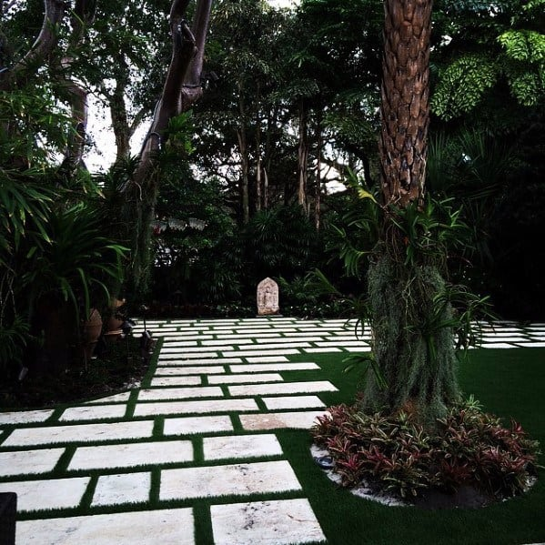 Top 70 Best Stepping Stone Ideas - Hardscape Pathway Designs on Stepping Stone Patio Ideas  id=62465