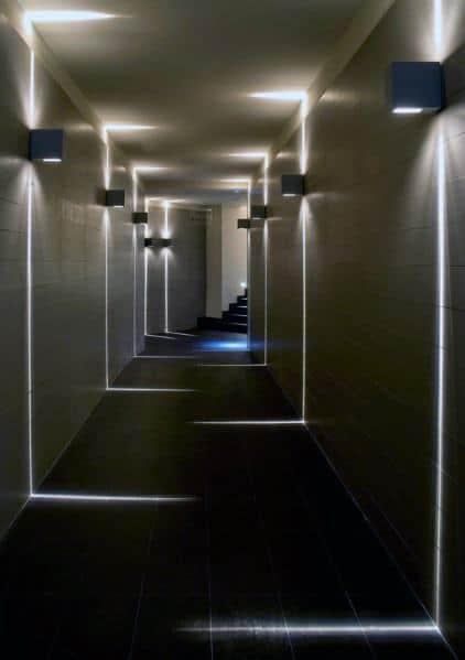 top 60 best hallway lighting ideas