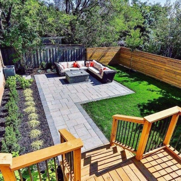 Top 70 Best Modern Patio Ideas - Contemporary Outdoor Designs on Modern Backyard Patio Ideas  id=80741