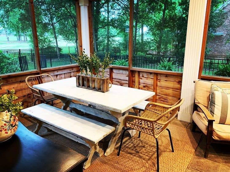 best screened in porch ideas
