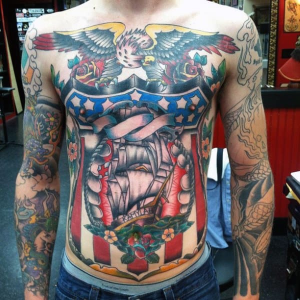 American Traditional Tattoo Filler