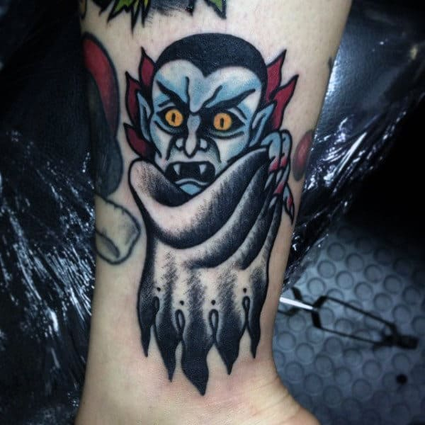 Zombie School New Tattoo Coffin