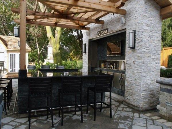 Top 50 Best Backyard Outdoor Bar Ideas - Cool Watering Holes on Backyard Exterior Design id=58332