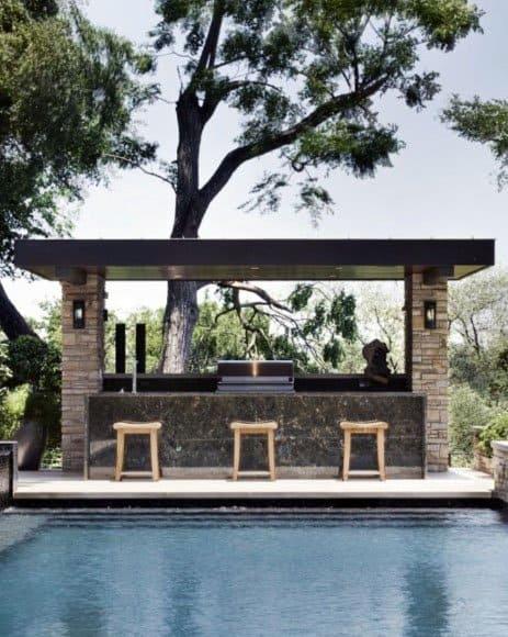 Top 50 Best Backyard Outdoor Bar Ideas - Cool Watering Holes on Best Backyard Bars  id=61116