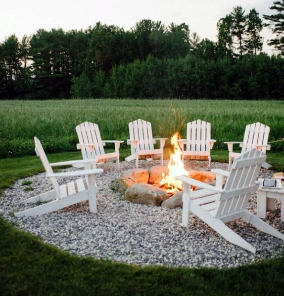 Top 60 Best Outdoor Fire Pit Seating Ideas - Backyard Designs on Fire Pit Inspiration  id=14734