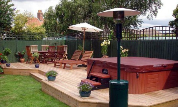 Top 80 Best Hot Tub Deck Ideas - Relaxing Backyard Designs on Deck And Hot Tub Ideas  id=42996