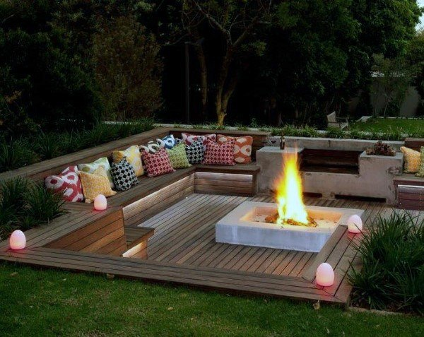Top 60 Best Fire Pit Ideas - Heated Backyard Retreat Designs on Outdoor Fire Pit Ideas id=15474
