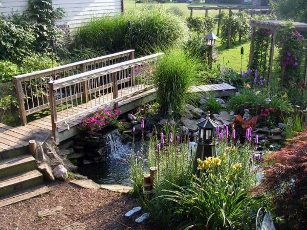Top 50 Best Backyard Pond Ideas - Outdoor Water Feature ... on Backyard Pond Landscaping Ideas  id=86732