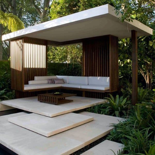 Top 50 Best Backyard Pavilion Ideas - Covered Outdoor ... on Outdoor Patio Pavilion id=74178