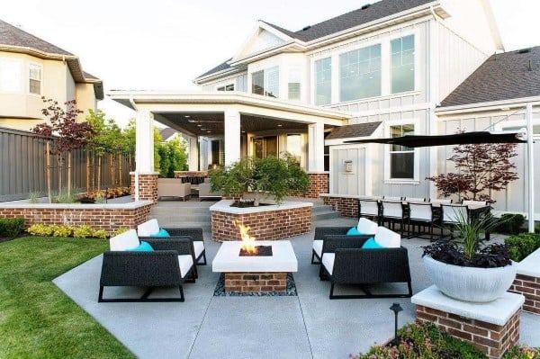 Top 60 Best Outdoor Patio Ideas - Backyard Lounge Designs on Backyard Cover Ideas  id=61738