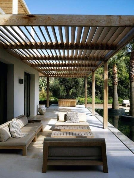 Top 60 Patio Roof Ideas - Covered Shelter Designs on Outdoor Deck Patio Ideas id=49700