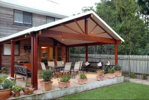 Top 60 Patio Roof Ideas - Covered Shelter Designs on Roof For Patio Ideas id=77017