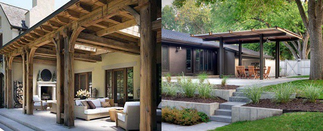 Top 60 Patio Roof Ideas - Covered Shelter Designs on Patio Top Ideas id=70407