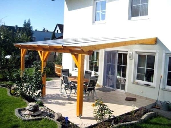 cover idea patio roof designs Top 60 Patio Roof Ideas - Covered Shelter Designs