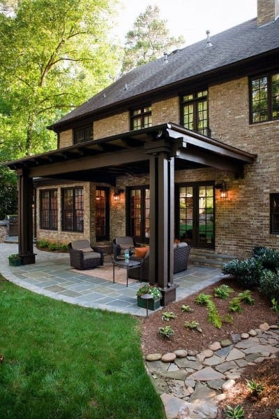 Top 60 Patio Roof Ideas - Covered Shelter Designs on Roof For Patio Ideas id=99588